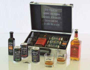 Jack Daniels Fire AL Kufor Contraband originálny darček pre muža