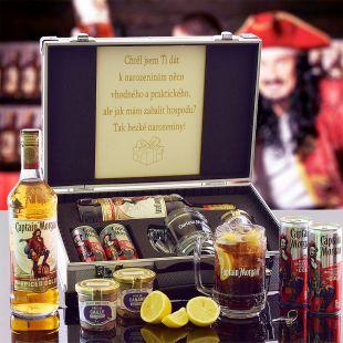 Captain Morgan AL Kufor Contraband originálny darček pre muža