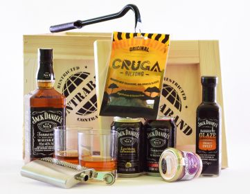 Darčekové Debny s Whisky CONTRABAND