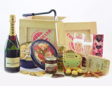 Darčekové Debny s Vínom,  Champagne & Sektom CONTRABAND