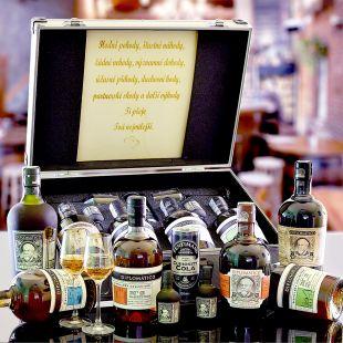 Diplomatico Quad Combo AL Kufr Contraband Originálny darček pre muža