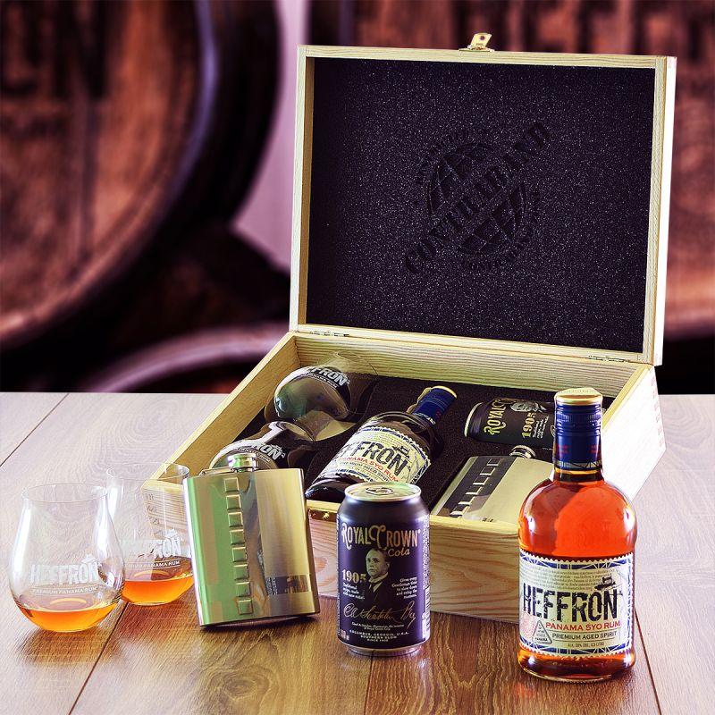 Heffron Set Contraband originálny darček pre muža