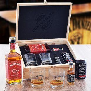 Jack Daniel's Fire Set Contraband Originálny darček pre muža
