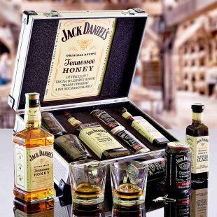 Jack Daniel's Honey AL Kufor Contraband originálny darček pre muža