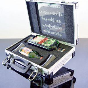 Darčekový kôš Jägermeister AL Kufor Contraband darček pre muža