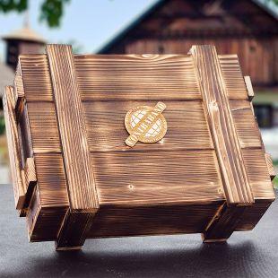 Darčeková debna s páčidlom KPZ Contraband originálny darček pre muža